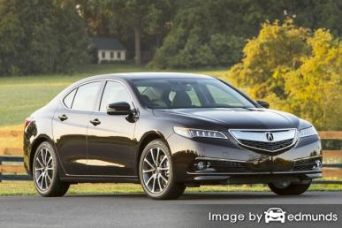 Insurance rates Acura TLX in San Diego