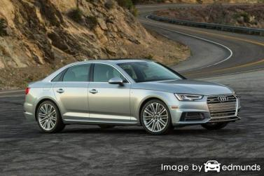 Insurance rates Audi A4 in San Diego
