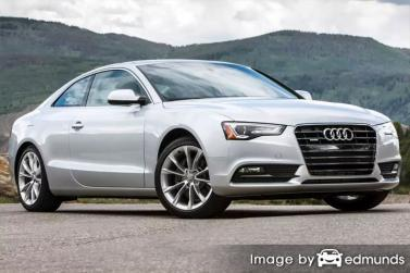 Insurance quote for Audi A5 in San Diego