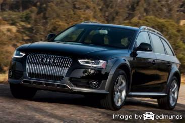 Insurance rates Audi Allroad in San Diego
