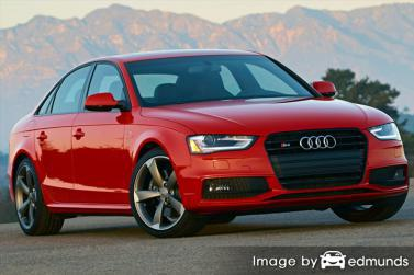 Insurance quote for Audi S4 in San Diego