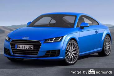 Insurance rates Audi TTS in San Diego