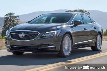 Insurance rates Buick LaCrosse in San Diego
