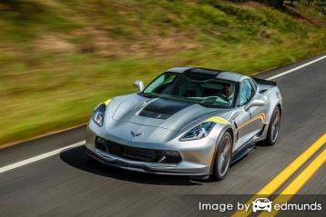 Insurance quote for Chevy Corvette in San Diego