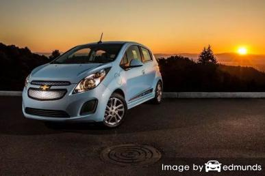 Discount Chevy Spark EV insurance