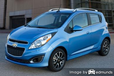 Insurance quote for Chevy Spark in San Diego
