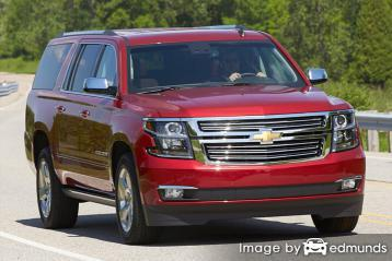 Insurance rates Chevy Suburban in San Diego