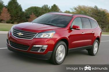 Insurance rates Chevy Traverse in San Diego
