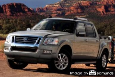 Insurance rates Ford Explorer Sport Trac in San Diego