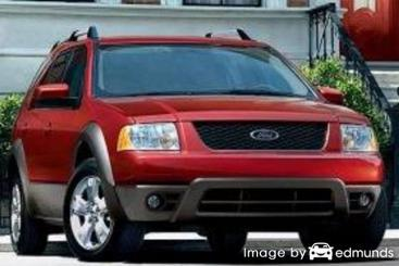 Insurance rates Ford Freestyle in San Diego