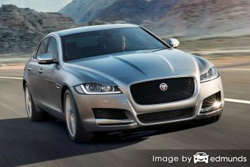 Insurance quote for Jaguar XF in San Diego