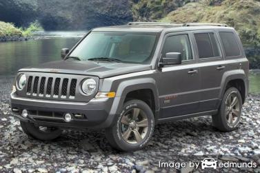 Insurance rates Jeep Patriot in San Diego