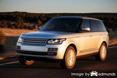 Insurance rates Land Rover Range Rover in San Diego