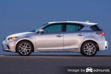 Insurance quote for Lexus CT 200h in San Diego