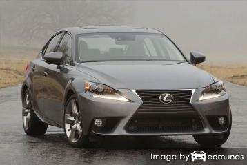 Insurance quote for Lexus IS 350 in San Diego