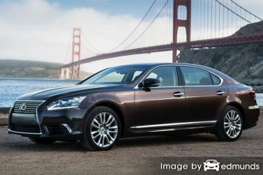 Insurance quote for Lexus LS 600h L in San Diego