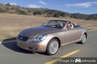 Insurance quote for Lexus SC 430 in San Diego