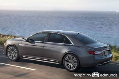 Insurance quote for Lincoln Continental in San Diego