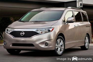 Insurance rates Nissan Quest in San Diego