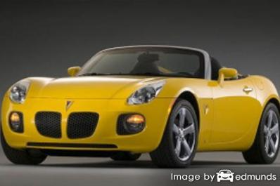 Insurance quote for Pontiac Solstice in San Diego