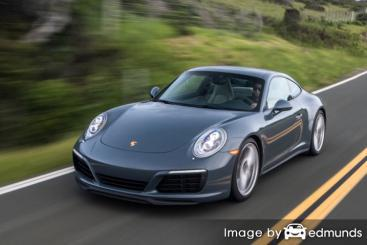 Insurance rates Porsche 911 in San Diego