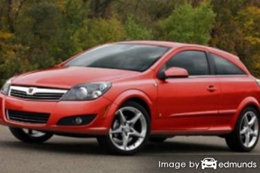 Insurance quote for Saturn Astra in San Diego