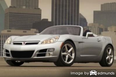 Insurance quote for Saturn Sky in San Diego