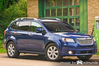Insurance quote for Subaru Tribeca in San Diego