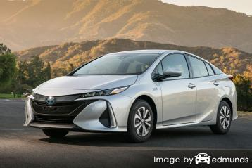 Insurance rates Toyota Prius Prime in San Diego
