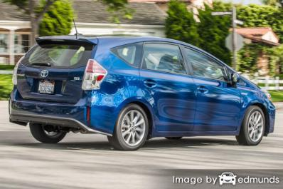 Insurance quote for Toyota Prius V in San Diego