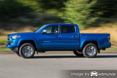 Insurance rates Toyota Tacoma in San Diego