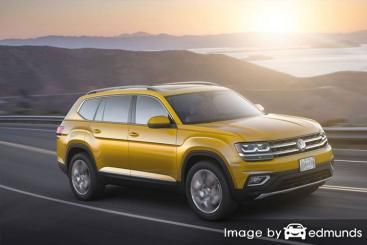 Discount Volkswagen Atlas insurance